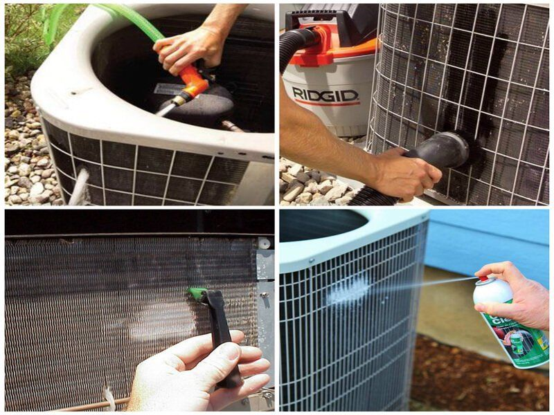 10 Easy Diy Tips On How To Clean Your Home Air Conditioning Unit Air Conditioner Maintenance Diy Home Repair Air Conditioning Unit