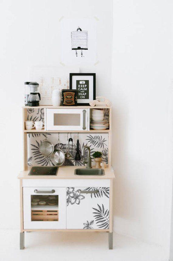 Ikea duktig removable tropical tucan ikea decals furniture stickers furniture decals set - Cuisinette ikea ...