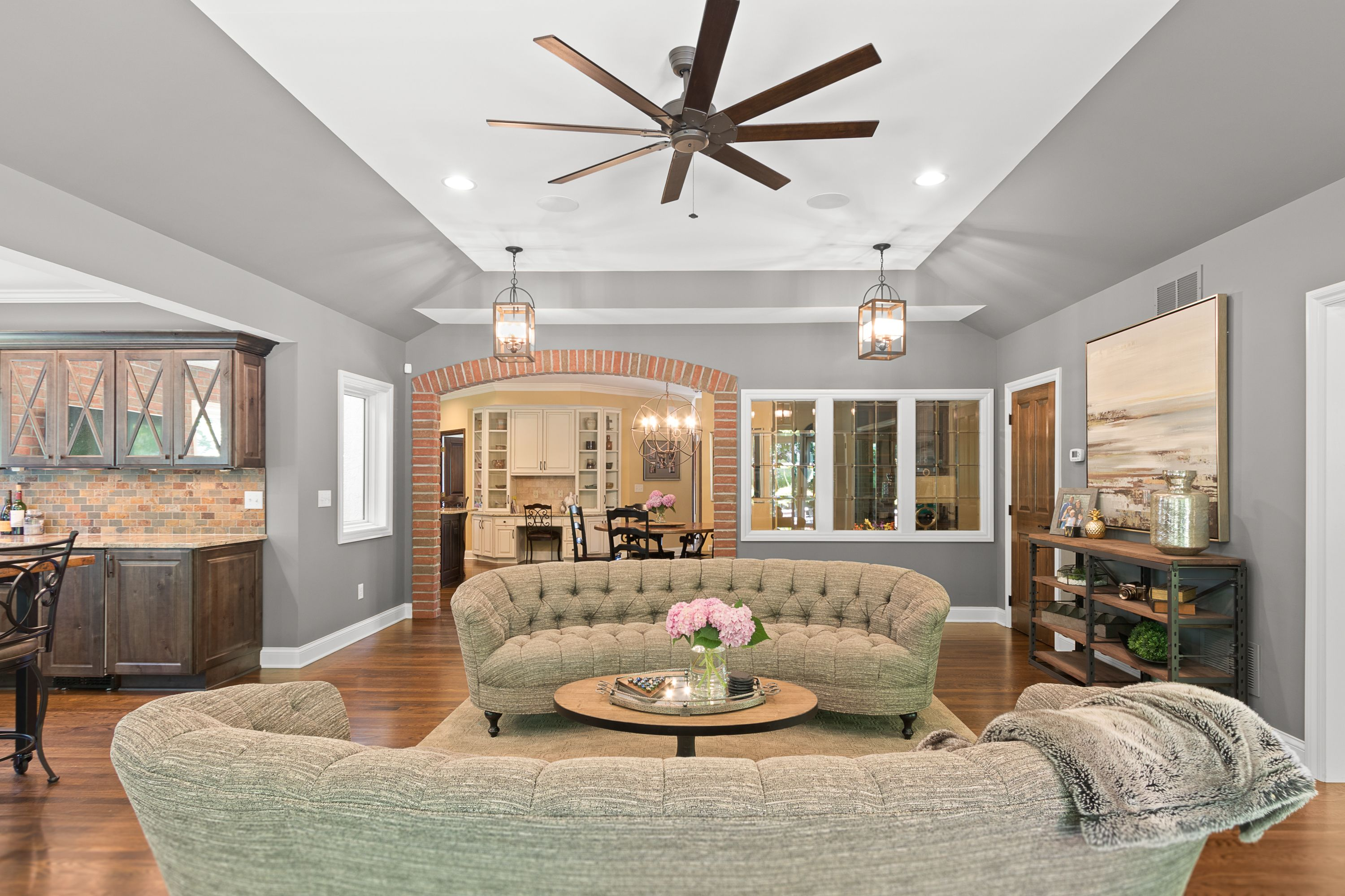 Room Addition | Family Room | Vaulted Ceiling | Richard ...