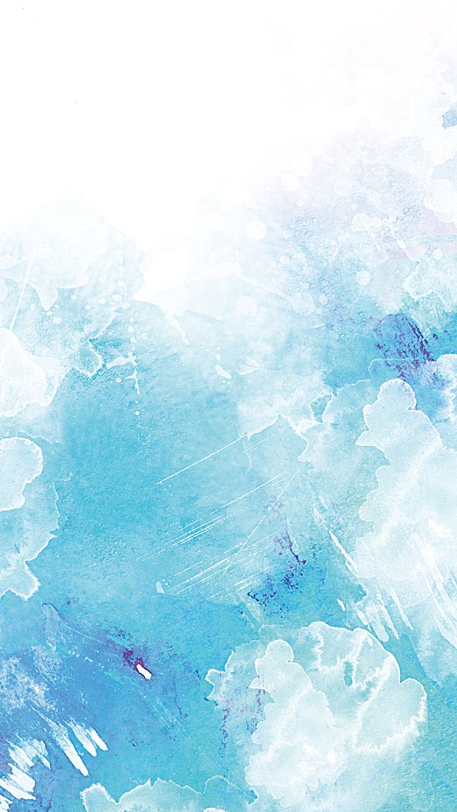 H5 Blue Gradient Background In 2019 Watercolor Blue