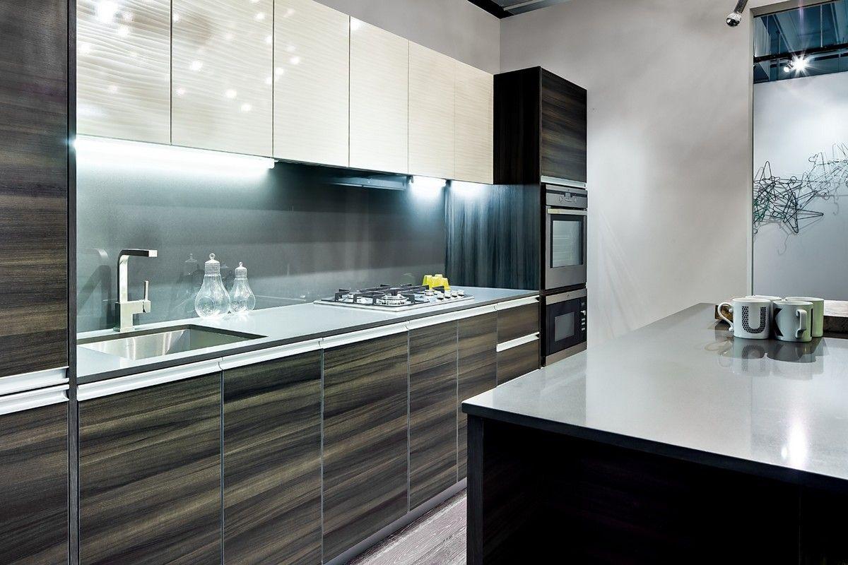 Decorative metal laminate backsplash kitchen | Laminate ...