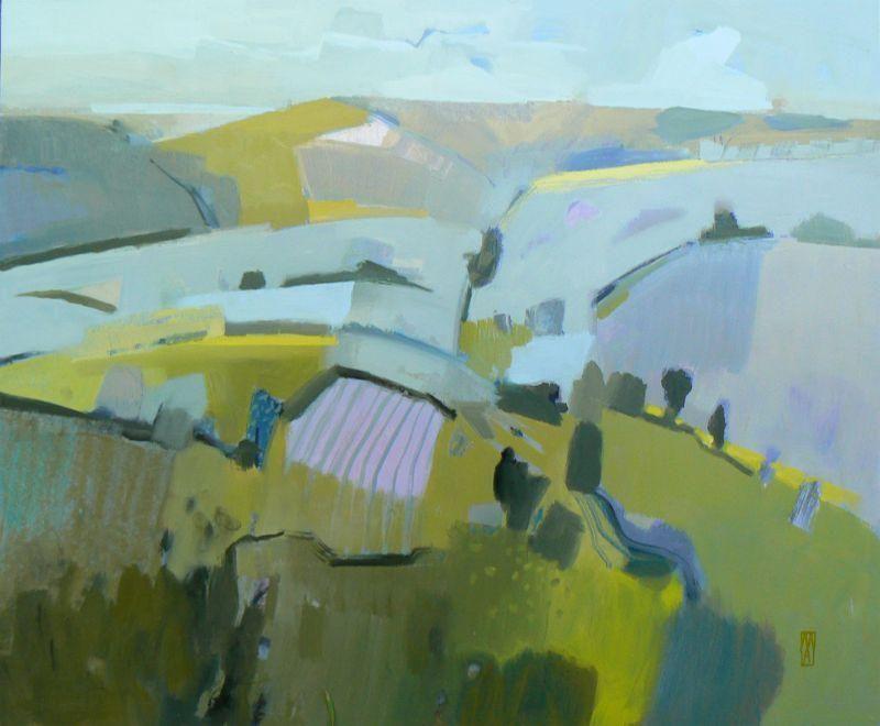 'Tadwick Valley, March 2015' Malcolm Ashman