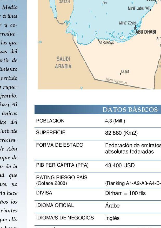 #ClippedOnIssuu from Guía-Pais Emiratos Arabes Unidos