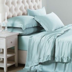 Silk Sheets Comfortable Things Bed Linen Sets