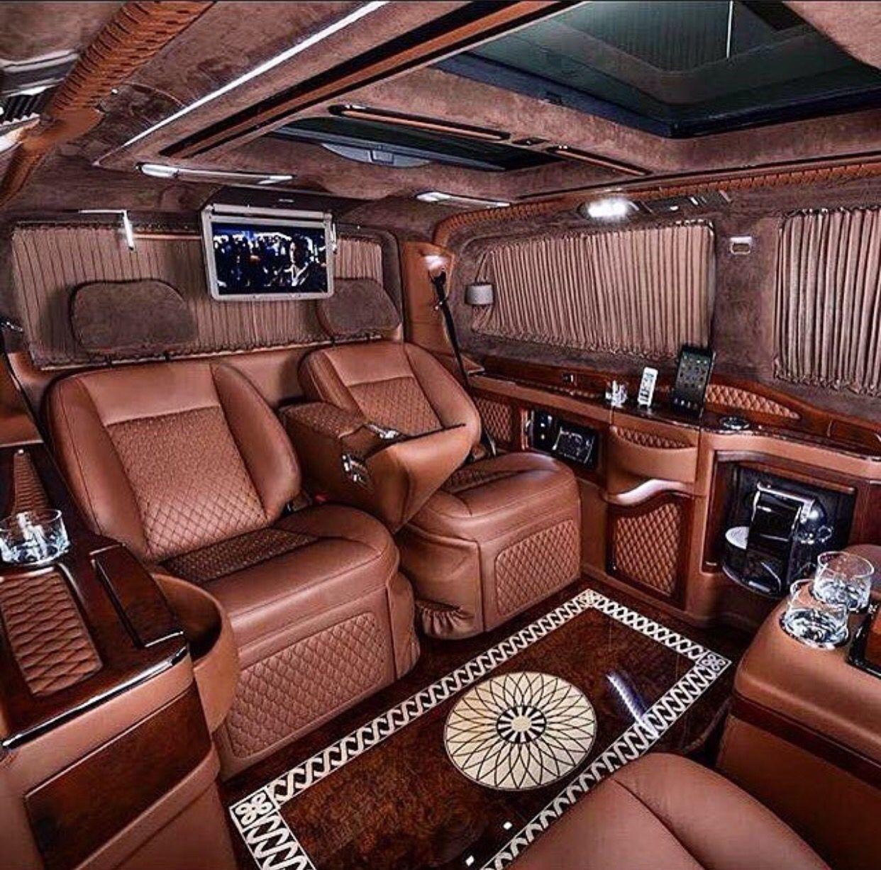 Luxury Cars , Limousine Interior , Luxury Van