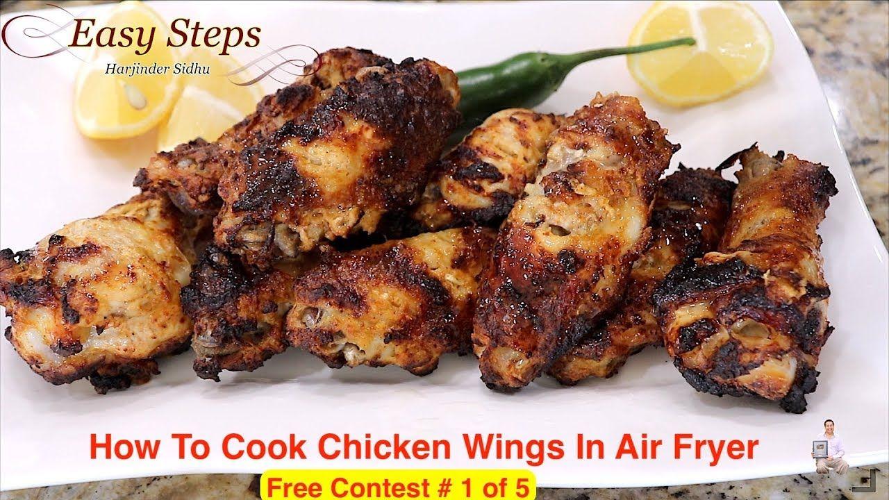 How To Cook Chicken Wings In Air Fryer ULTREAN Air Fryer