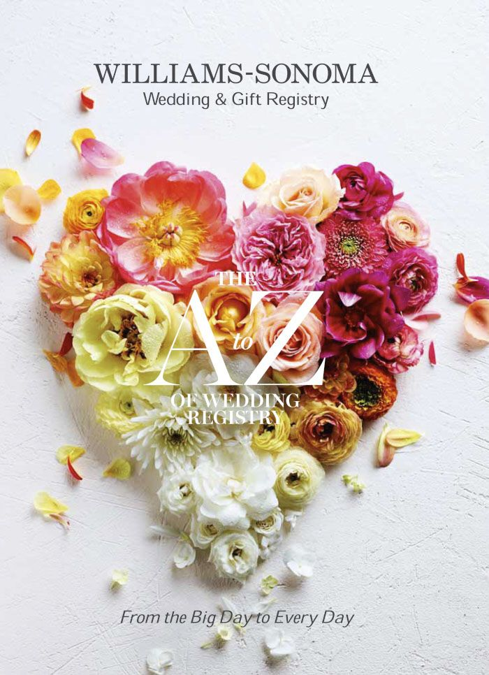 Food Advertising Anson Smart Wedding gift registry