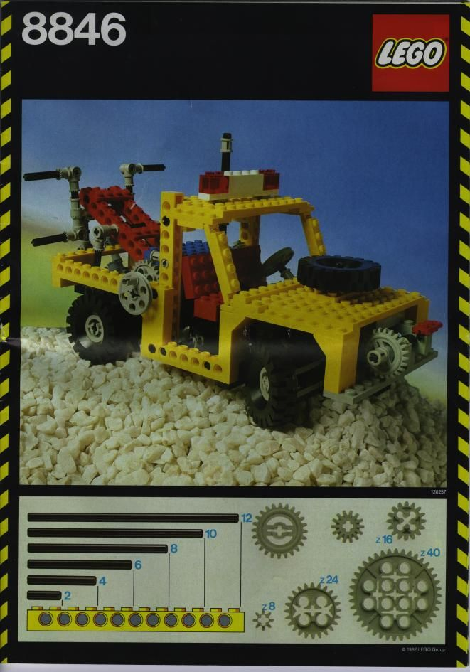 Technic Tow Truck Lego 8846 Lego Instructions Sets