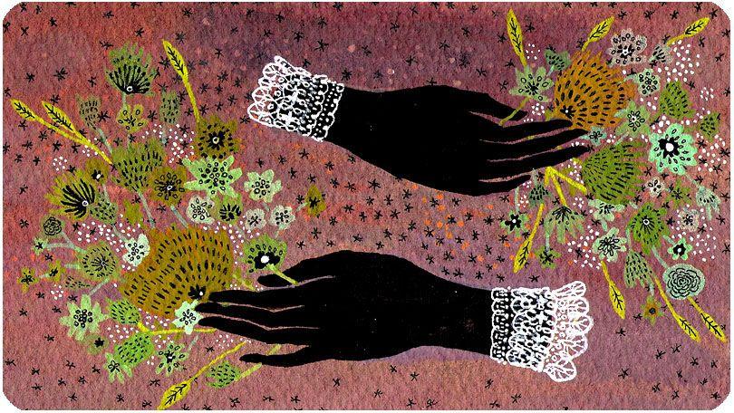 becca stadtlander illustration: hands