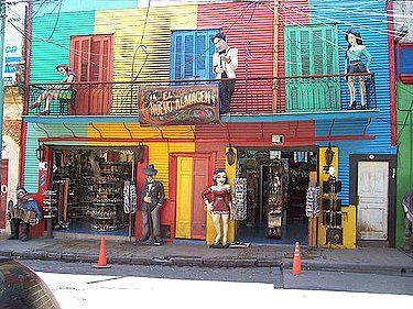 Imágenes Argentinas: La Boca, ciudad de Buenos Aires