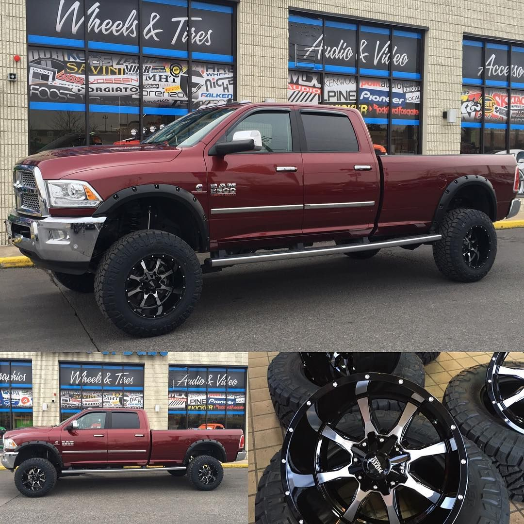 "New 2017 Ram 2500 we did a 6"" lift and 20x12s with 37"