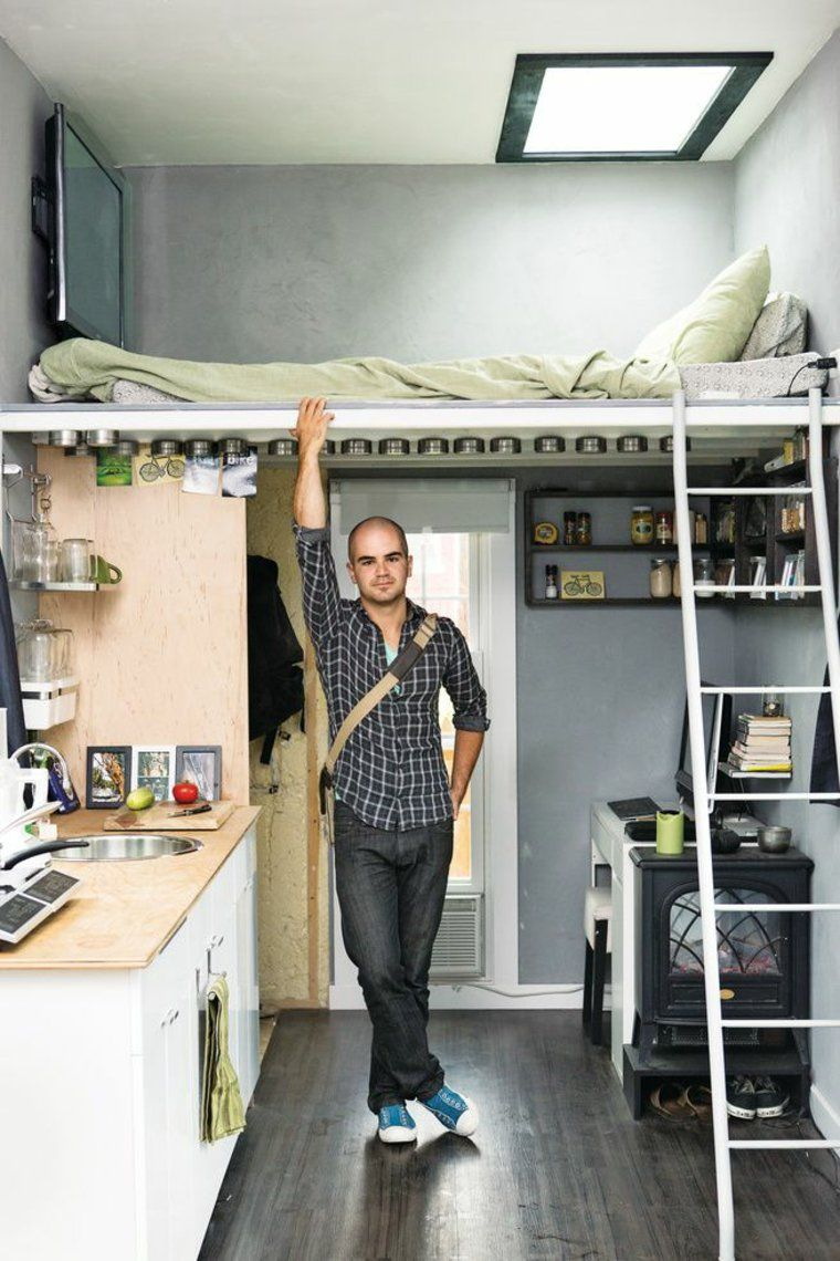 lits mezzanine et lits superpos s pour un am nagement. Black Bedroom Furniture Sets. Home Design Ideas