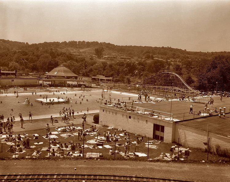 Rainbow gardens amusement park corner of lincoln way and - White oak swimming pool opening times ...