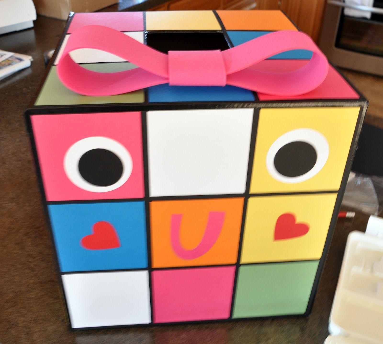 Creative Valentine Boxes | Cardstock : Pacific Point, Melon Mambo, Wild  Wasabi, Delightful
