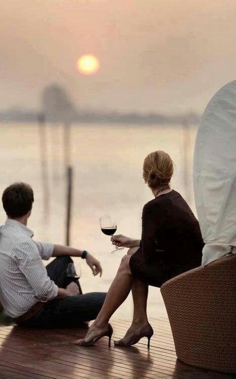 wine, good company