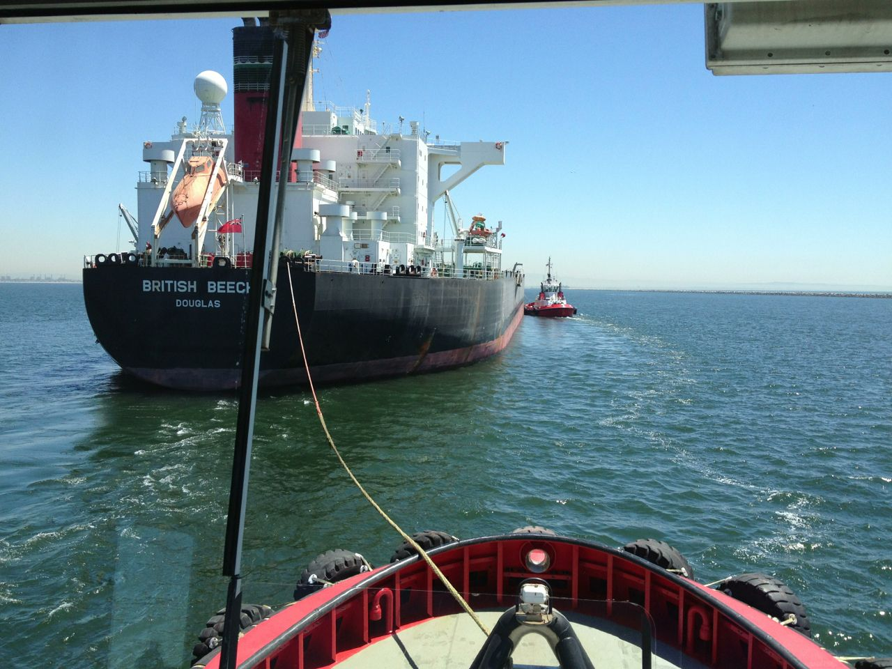 Tanker Escort Work In Long Beach Ca Image By Author