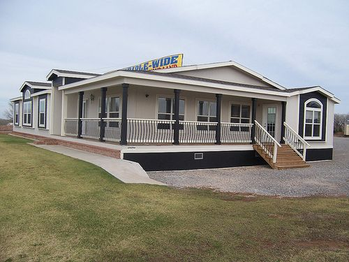 A triple wide mobile home is a prefabricated home made in