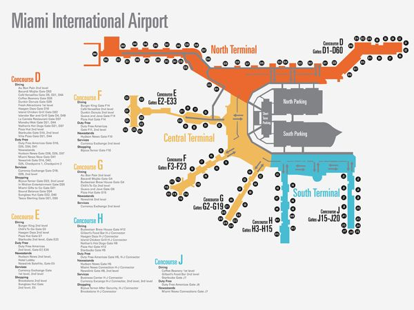miami airport gate map Miami Airport Map By Christofer Patton Via Behance Airport Map Miami Airport Airport miami airport gate map