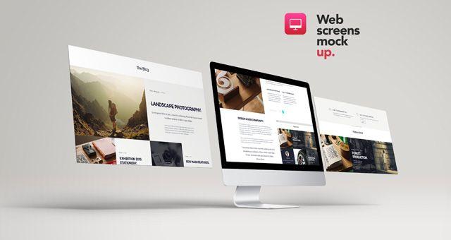 desktop mockup design resources