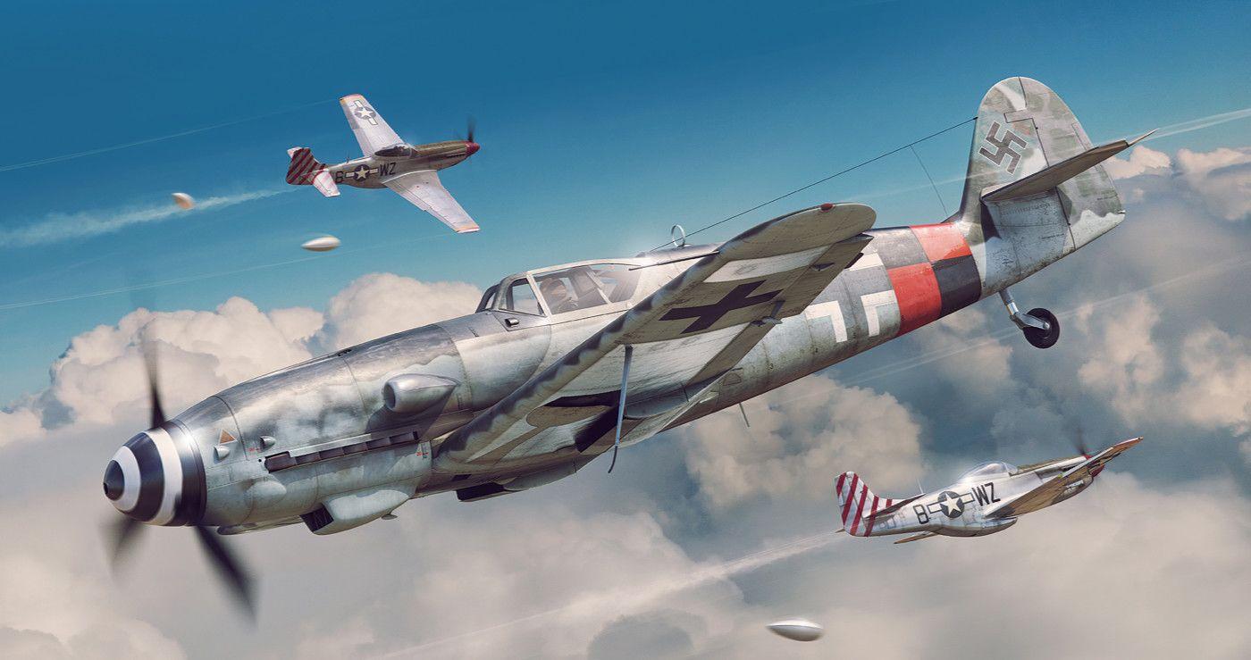 Обои german airplane, ww2, painting.aviation, Fw 190 d-9, bomber hunter, war. Авиация foto 10