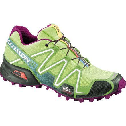 Salomon SpeedCross 3 Trail Running Shoe Women's Firefly