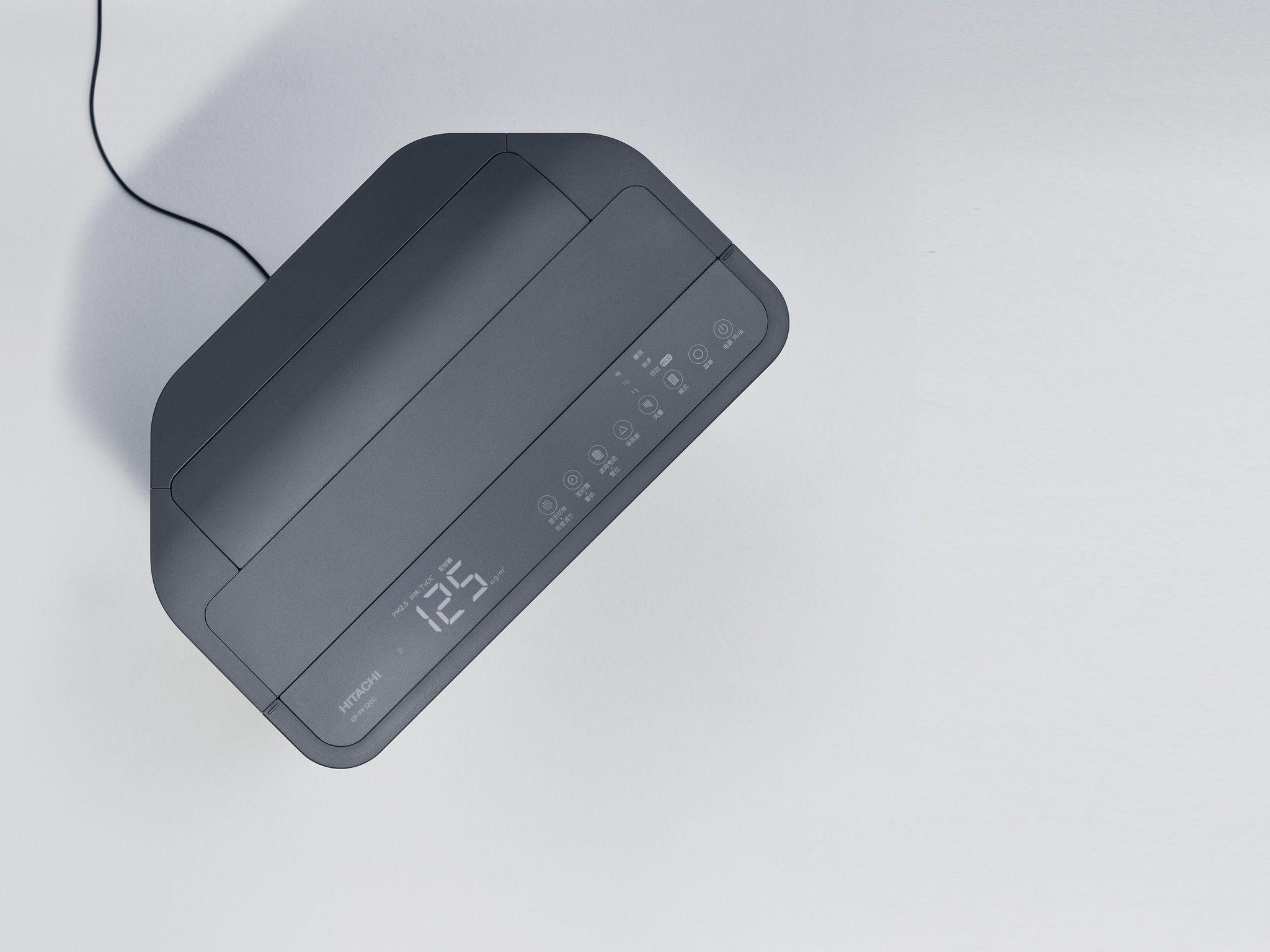 日立空气净化器EPPF120C系列 iF世界设计指南 in 2020 Air purifier, Air