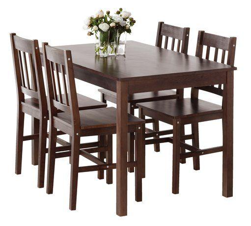 Dining Table And More Stol 4 Stolice TYLSTRUP Boja Kafe