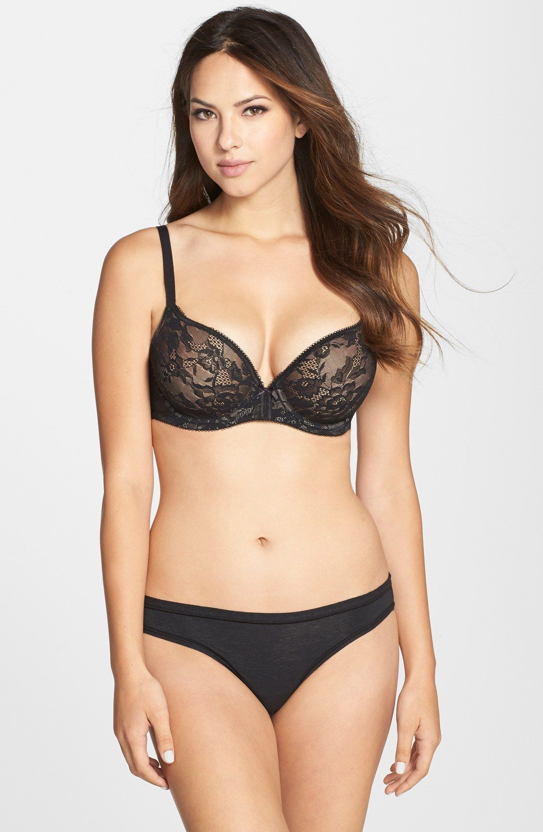 Finesse Molded Underwire T-Shirt Bra | Wacoal, Nordstrom and Black ...