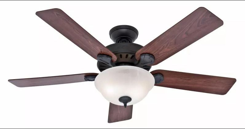 Deluxe Oil Rubbed Bronze Paddle Fan R Anell Homes Ceiling Fan
