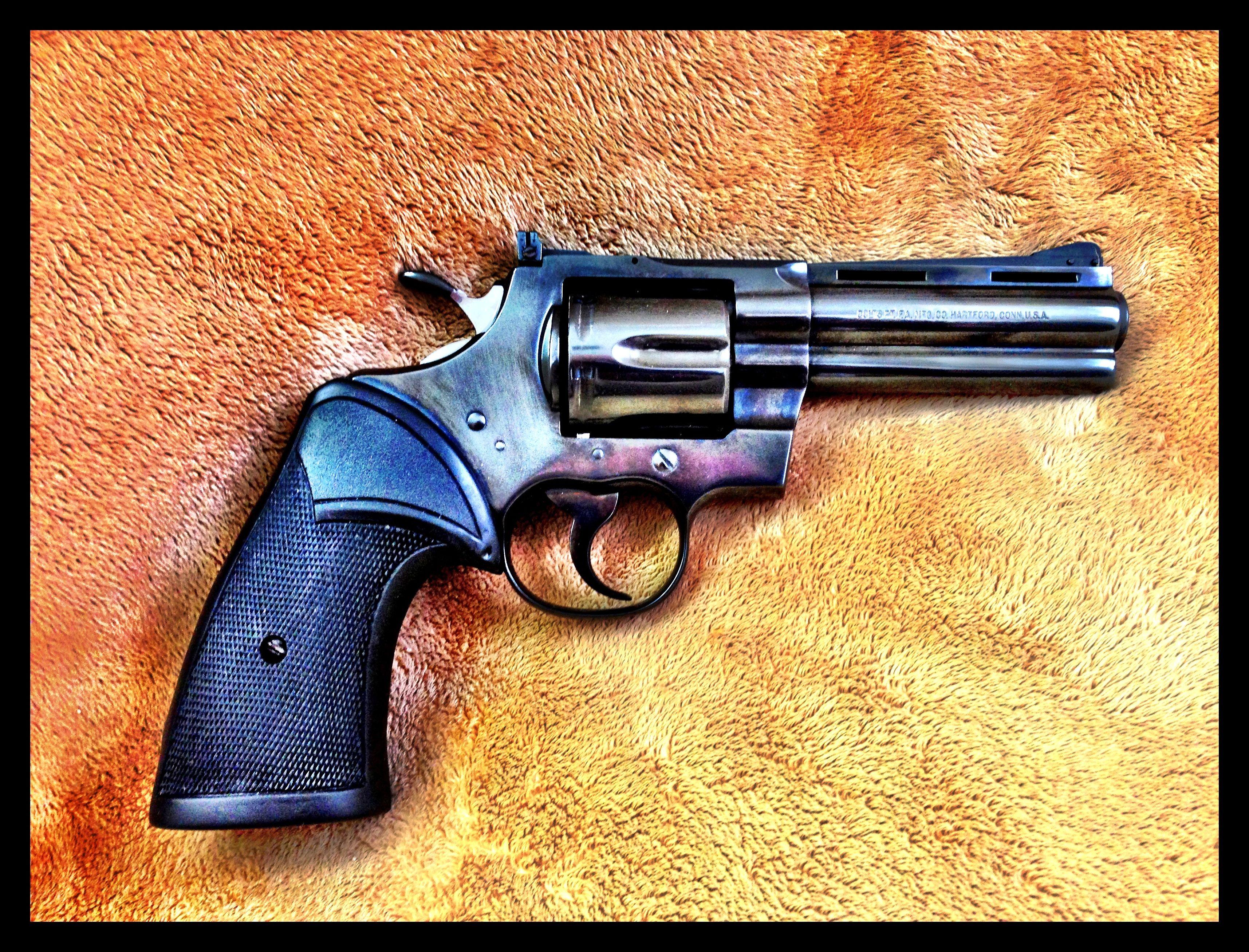 Colt Python  357 owned by John Black | Guns | Colt python, Guns