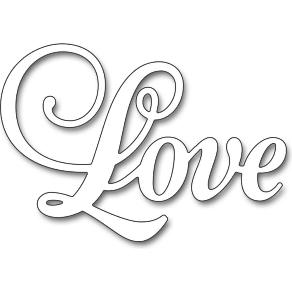 Penny Black Love Creative Dies Moldes Letras Para Imprimir