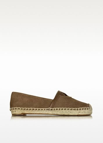 2deed796e1ba TORY BURCH Sidney River Rock Suede And Leather Flat Espadrille.  toryburch   shoes  flats
