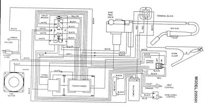 Craftsman Mig Welder Parts Model 934205591 Sears Partsdirect Mig Welder Welders Circuit Diagram