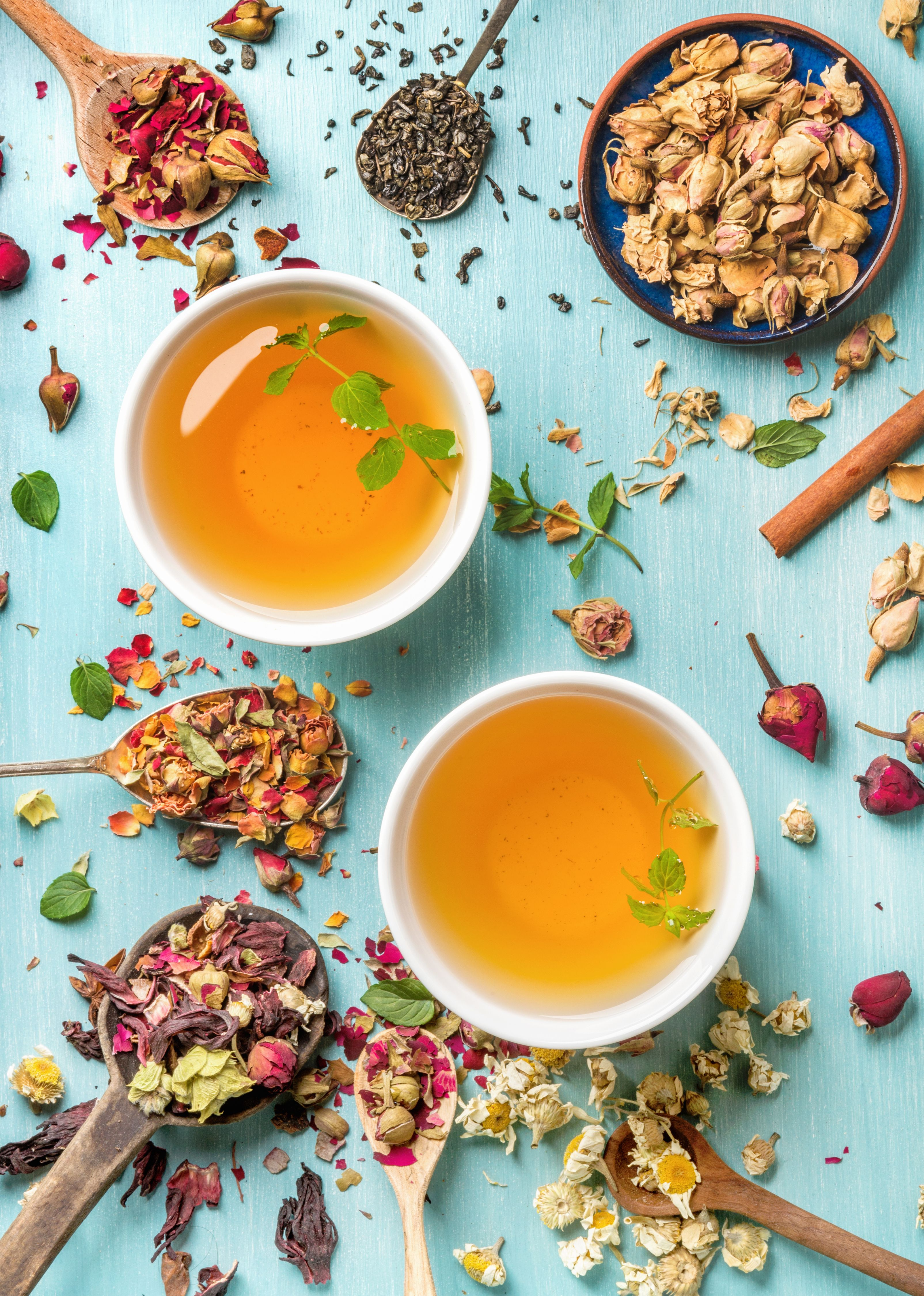 there are a couple of herbal teas that can help you catch your zzz's