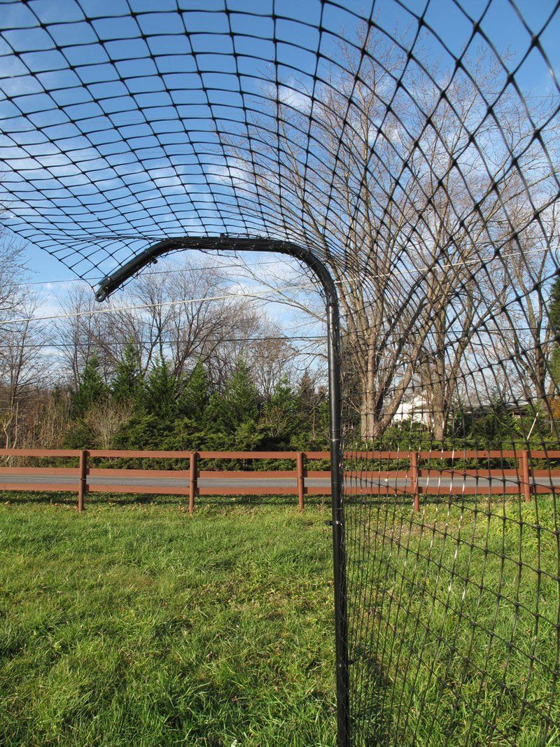 6 Cat Fence Post With Extender And Sleeve Tortoise