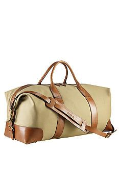 Polo Ralph Lauren Canvas Duffle Bag #belk #men #gifts