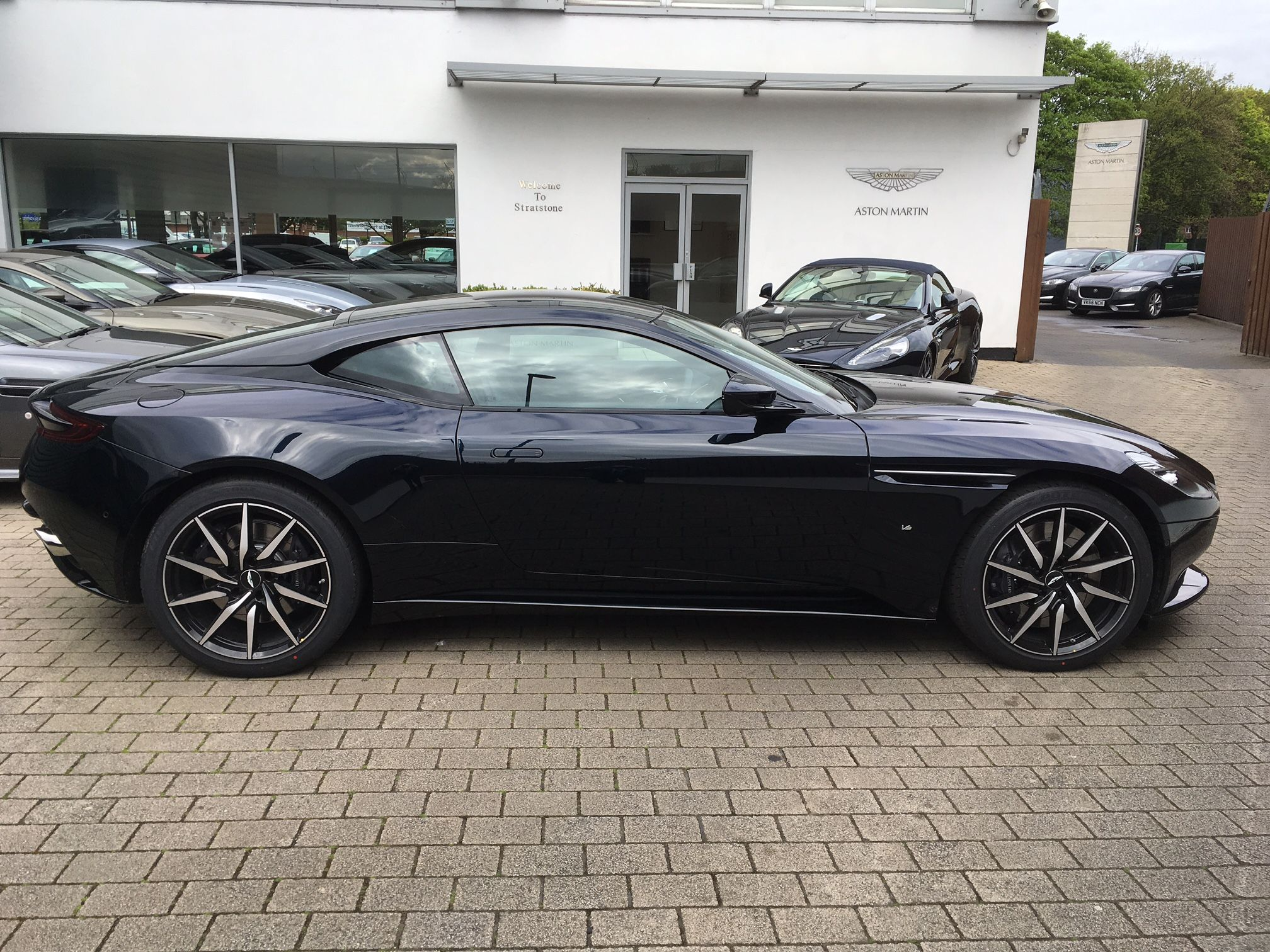 the aston martin db coupe launch edition carleasing