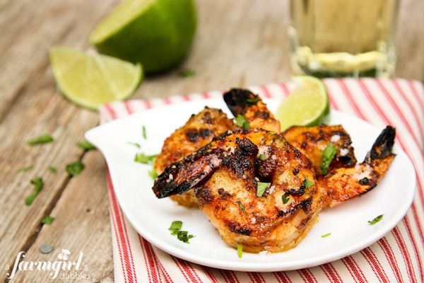 Grilled Caribbean Jerk Shrimp {2 ways #jerkshrimp