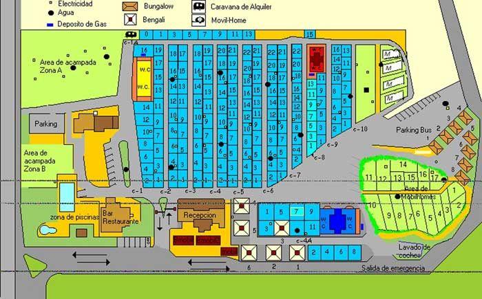 Mobile home park design plans.