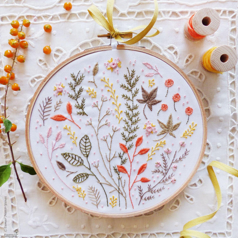 Tamarnahiryanai flower pinterest embroidery art embroidery