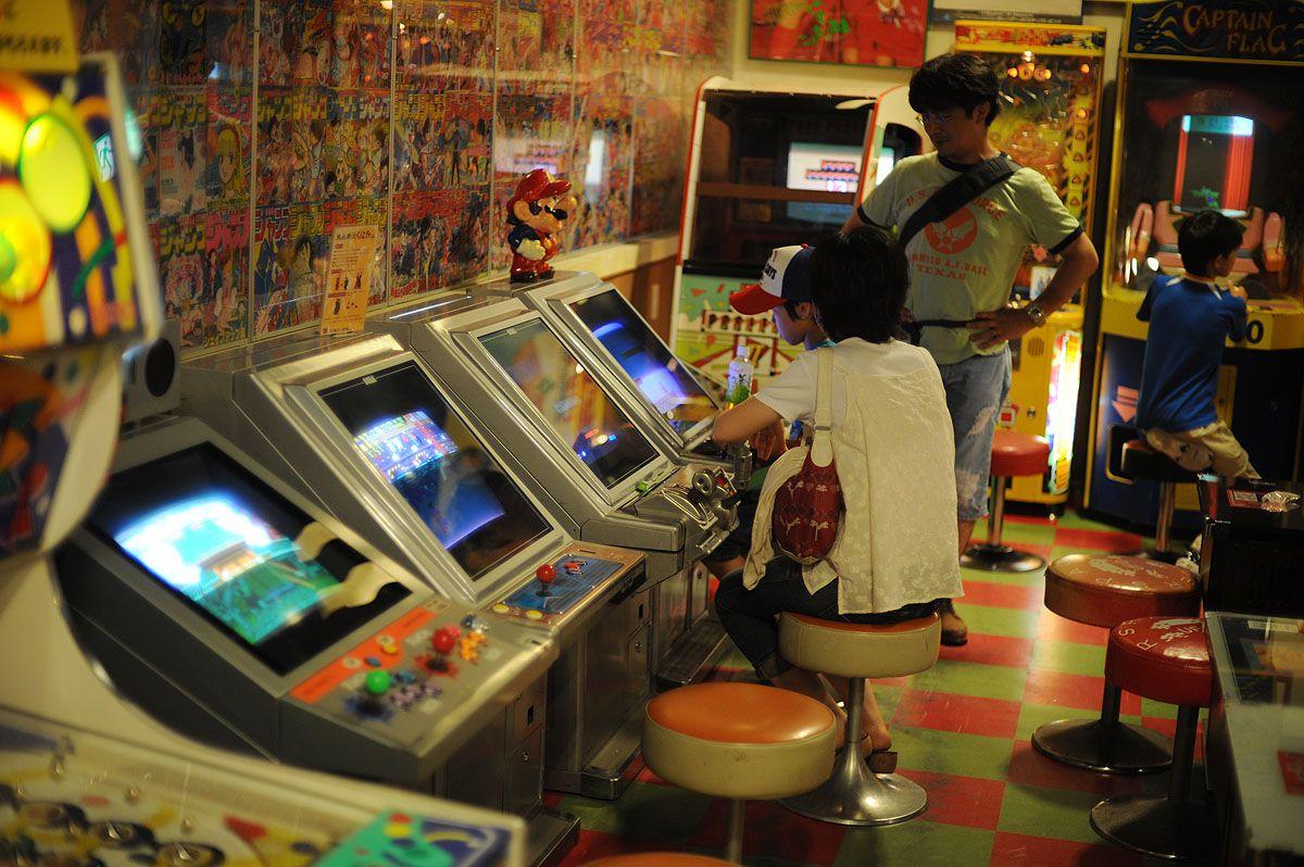 Épinglé par Daron Velez sur Arcade Japon
