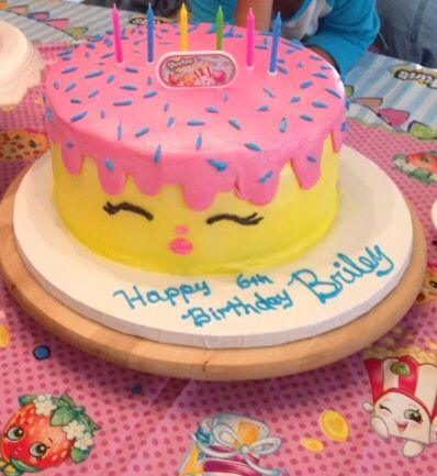All Buttercream Shopkins Cake For My Granddaughter Shopkinscake