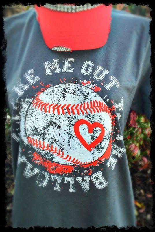 Take Me Out to the Ballgame Baseball Tee Baseball outfit