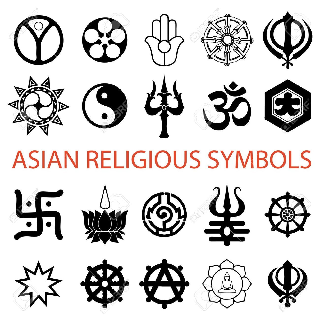 Various Religious Symbols Art Pinterest Religious Symbols And