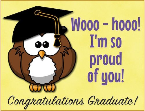 Show your pride when you #congratulate your #graduate2016 with - free congratulation cards