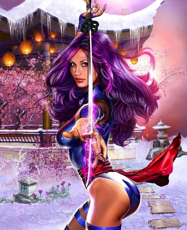 Psylocke | Marvel Comics | Psylocke, Comic art, Marvel art