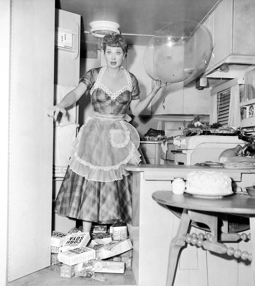 "Lucille Ball in ""The Long, Long Trailer"""