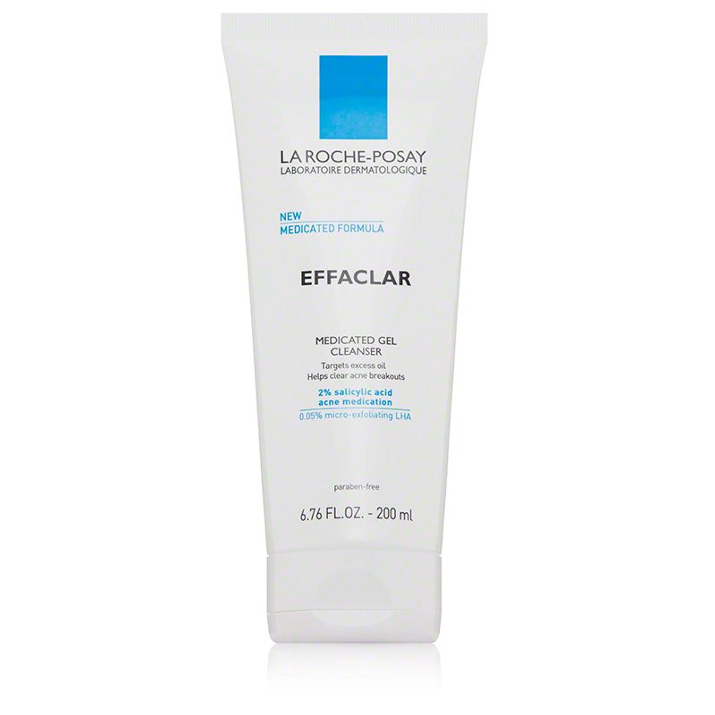 La Roche Posay Effaclar Medicated Gel Cleanser Dermstore Gel Cleanser Combination Skin Care Skincare For Oily Skin