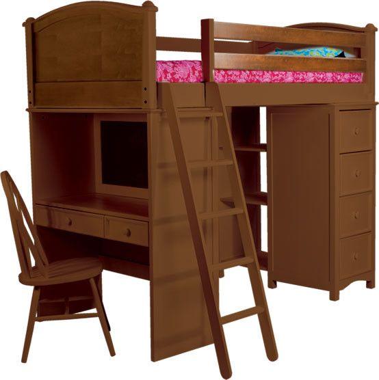 Bellmead Twin Over Twin Bunk Bed Kids Bedroom Sets Bunk