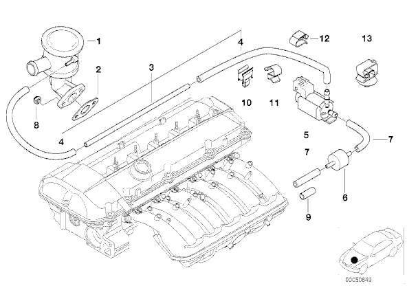 2003 Bmw X5 Engine Diagram